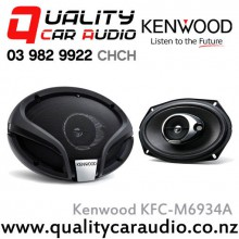 "Kenwood KFC-M6934A 6x9"" 360W 3 Ways Coaxial Car Speakers (Pair) with Easy LayBy"