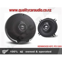 "Kenwood KFC-PS1395 5.25"" (13cm) 320W 3 Ways Coaxial Car Speakers (Pair) with Easy Layby"