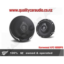 "Kenwood KFC-PS1695 6"" (16cm) 320W 3 Ways Coaxial Car Speakers (Pair) with Easy Layby"