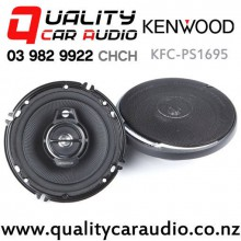 "Kenwood KFC-PS1695 6"" (16cm) 320W 3 Ways Coaxial Car Speakers (pair) with Easy Finance"