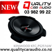 "Kenwood KFC-PS2516W 10"" (25cm) 1300W  Single Voice Coil (SVC) Car Subwoofer with Easy Layby"