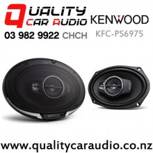 "Kenwood KFC-PS6975 6x9"" 550W (105W RMS) 3 Ways Coaxial Car Speakers (Pair)"