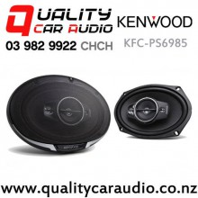 "Kenwood KFC-PS6985 6x9"" 600W 4 Ways Coaxial Car Speakers (Pair) with Easy Finance"