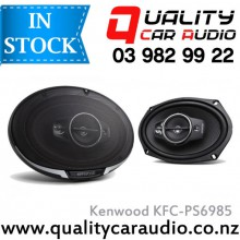 "Kenwood KFC-PS6985 6x9"" 600W 4 Ways Coaxial Car Speakers (Pair) with Easy Layby with Easy Layby"