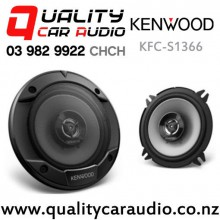 "Kenwood KFC-S1366 5.25"" 260W (30W RMS) 2 Way Coaxial Car Speaker (pair) with Easy Finance"