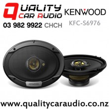 "Kenwood KFC-S6976 6x9"" 500W (80W RMS) 3 Way Coaxial Car Speakers (pair) with Easy Finance"