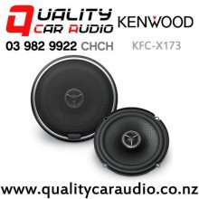 "Kenwood KFC-X173 6.5"" 240W (80W RMS) 2 Way Coaxial Car Speakers (pair) with Easy Finance"