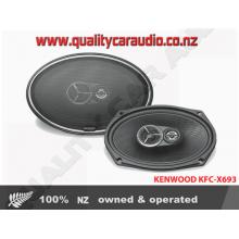 """KENWOOD KFC-X693 6x9"""" 3-Way 300W Coaxial Speakers"""