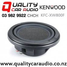 "Kenwood KFC-XW800F 8"" 600W (150W RMS) Single 4 ohm Voice Coil Shallow Mount Car Subwoofer with Easy Finance"