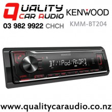 Kenwood KMM-BT204 Bluetooth USB AUX NZ Tuners 1x Pre Out Car Stereo with Easy Finance