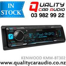 KENWOOD KMM-BT302 Bluetooth USB AUX NZ Tuners 1x Pre Out with Easy LayBy