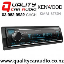 Kenwood KMM-BT304 Bluetooth USB AUX NZ Tuner 3x Pre Outs Car Stereo with Easy Finance