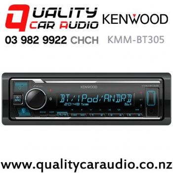 Kenwood KMM-BT305 Bluetooth USB AUX Android iPhone Spotify NZ Tuner 2x Pre  Outs Car Stereo with Easy Payments