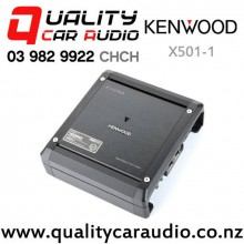 Kenwood X501-1 500W RMS Mono Channel Class D Car Amplifier with Easy Finance