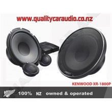"Kenwood XR-1800P 7"" 330W 2 Ways Car Component Speakers (Pair) with Easy Layby"