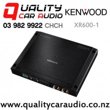 Kenwood XR600-1 Excelon 600W RMS Mono Channel Class-D Car Amplifier  with Easy Finance