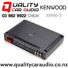 Kenwood XR900-5 Excelon 900W RMS 5/4/3/2 Channel Class-D Car Amplifier with Easy Finance