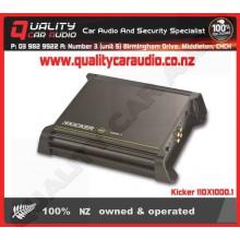 Kicker 11DX1000.1 1000W Mono channel amplifier - Easy LayBy