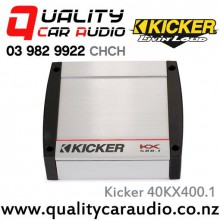 Kicker 40KX400.1 400W Mono Channel Class D Car Amplifier with Easy Finance