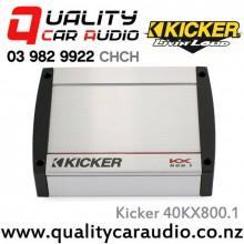 Kicker 40KX800.1 800W Mono Class D Car Amplifier with Easy LayBy