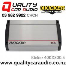 Kicker 40KX800.5 400W 5/4/3/2/1 Channel Class D Car Amplifier with Easy LayBy