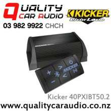 Kicker 40PXIBT50.2 25W 2Channel Bluetooth Car Amplifier with Easy LayBy