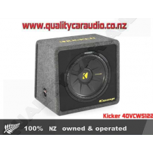 "Kicker 12"" 40VCWS122 2-ohm CompS subwoofer - Easy LayBy"