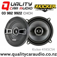"Kicker 41KSC54 5.25"" 150W (75W RMS) 2 Way Car Speakers (pair) with Easy LayBy"