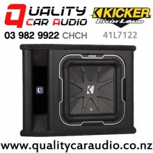 """Kicker 41L7122 12"""" 900W RMS 2 ohm Voice Coil Loaded Car Subwoofer Enclosure with Easy Finance"""