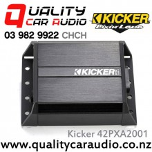 Kicker 42PXA2001 200W Mono Compact Car Amplifier with Easy LayBy