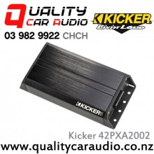 Kicker 42PXA2002 200W 2 Channel Compact Car Amplifier with Easy LayBy