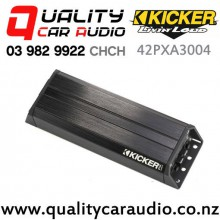 Kicker 42PXA3004 4 Channel 300W Compact Car Amplifier with Easy Finance