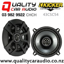 """Kicker 43CSC54 5.25"""" 225W (75W RMS) 2 Way Coaxial Car Speakers (pair) with Easy Finance"""