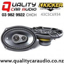 "Kicker 43CSC6934 6x9"" 450W (150W RMS) 2 Way Coaxial Car Speakers (pair) with Easy Finance"