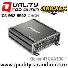 Kicker 43CXA300.1 300W Mono Class D Car Amplifier with Easy LayBy