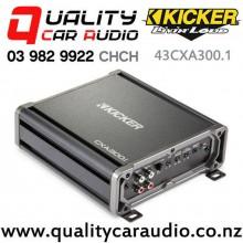 Kicker 43CXA300.1 300W Mono Class D Car Amplifier with Easy Finance