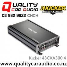 Kicker 43CXA300.4 300W 4/3/2 Channel Class D Car Amplifier with Easy LayBy