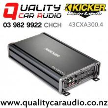 Kicker 43CXA300.4 300W 4/3/2 Channel Class D Car Amplifier with Easy Finance