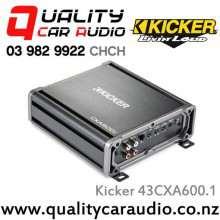 Kicker 43CXA600.1 600W Mono Class D Car Amplifier with Easy LayBy