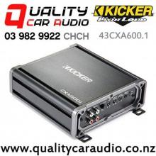 Kicker 43CXA600.1 600W Mono Channel Class D Car Amplifier with Easy Finance