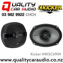 "Kicker 44KSC6904 6x9"" 300W (150W RMS) 2 Way Coaxial Car Speakers with Easy LayBy"