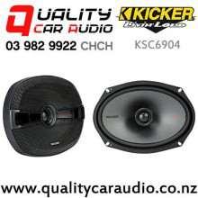 "Kicker KSC6904 6x9"" 300W (150W RMS) 2 Way Coaxial Car Speakers with Easy Finance"