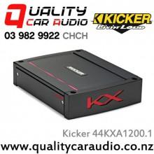 Kicker 44KXA1200.1 1200W Mono Class D Car Amplifier  with Easy LayBy