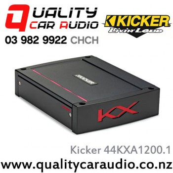 Kicker 44kxa12001 1200w mono class d car amplifier with easy layby sciox Image collections
