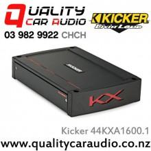Kicker 44KXA1600.1 1600W Mono Class D Car Amplifier with Easy LayBy