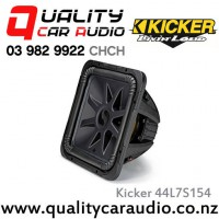 "Kicker 44L7S154 Solo-Baric L7S Series 15"" 2000W (1000W RMS) Dual 4 ohm Voice Coils Car Subwoofer with Easy LayBy"