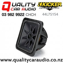 "Kicker 44L7S154 Solo-Baric L7S Series 15"" 2000W (1000W RMS) Dual 4 ohm Voice Coils Car Subwoofer with Easy Finance"