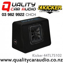 "Kicker 44TL7S102 Solo-Bric L7S Series Single 10"" 1200W (600W RMS) 2 ohm Car Subwoofer Enclosure with Easy LayBy"