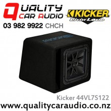 "Kicker 44VL7S122 Solo-Bric L7S Series Single 12"" 1500W (750W RMS) 2 ohm Car Subwoofer Enclosure with Easy LayBy"