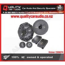 "Kicker CSS674 6.75"" 300W component speakers - Easy LayBy"